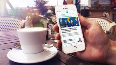 Håll dig uppdaterad i realtid med fPlus app