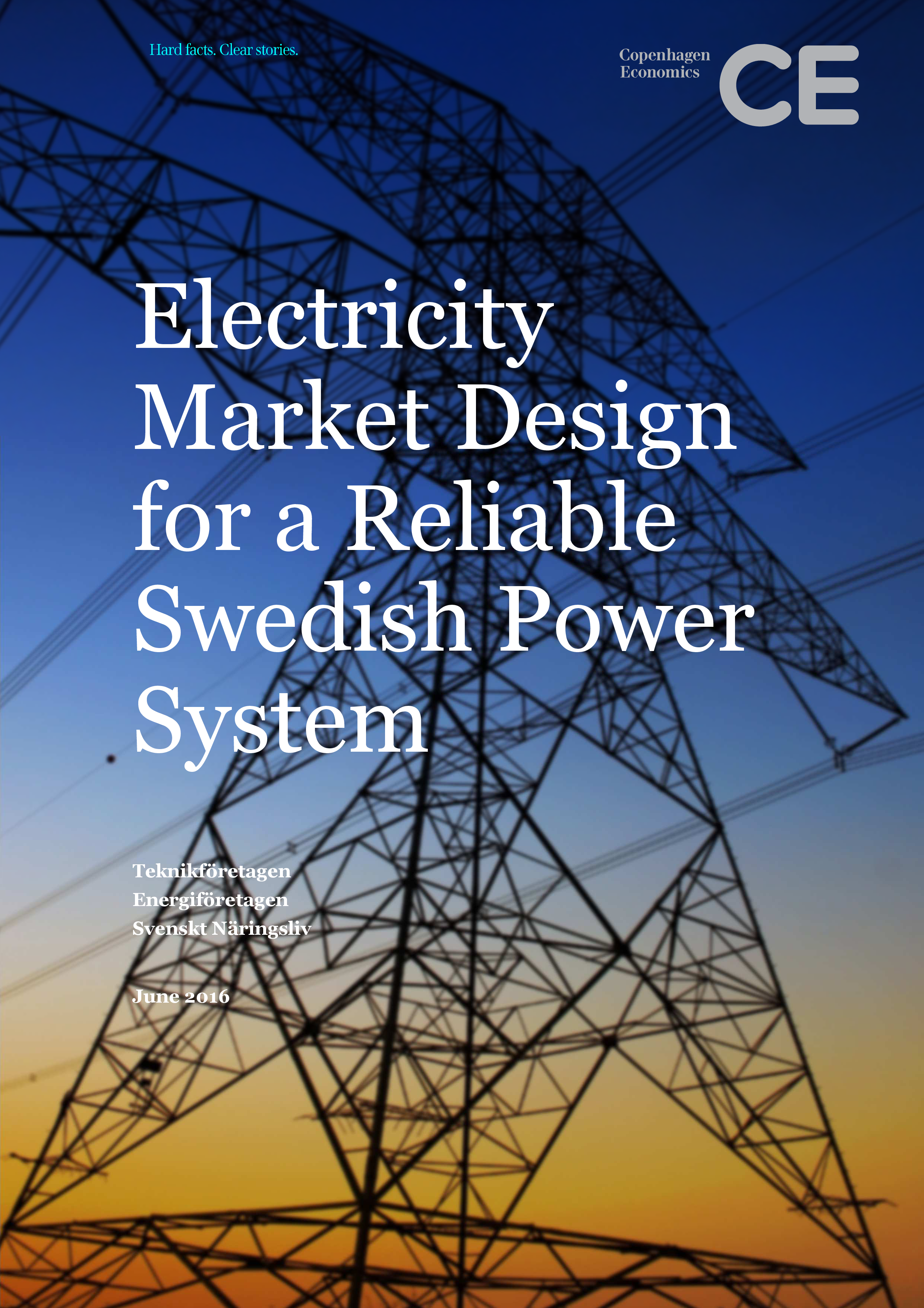 Electricity Market Design for a Reliable Swedish Power System