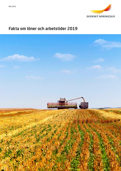 Fakta om löner och arbetstider 2019
