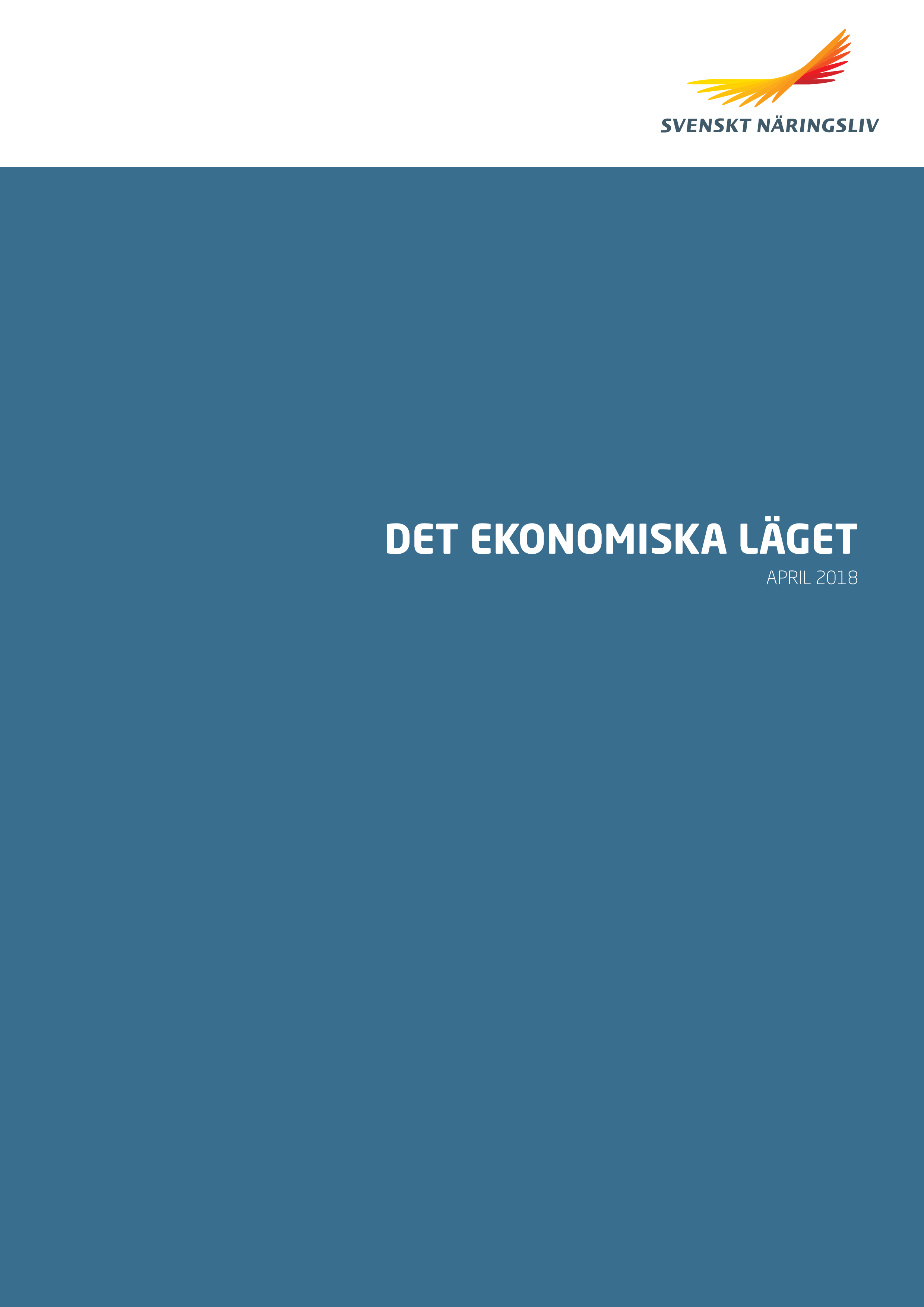 Det ekonomiska läget, april 2018