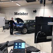 ProMeister Fordon kör praktik i verkstad via videomöten