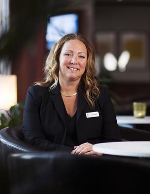 Susanne Andersson Pripp, vd för Best Western Hotell Ett i Östersund.