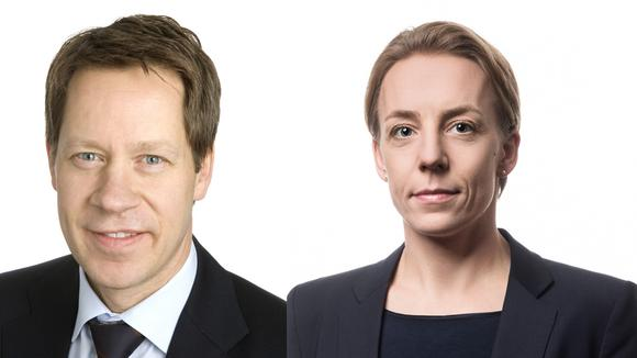 Johan Fall, skattechef och Lynda Ondrasek Olofsson, skatteexpert.