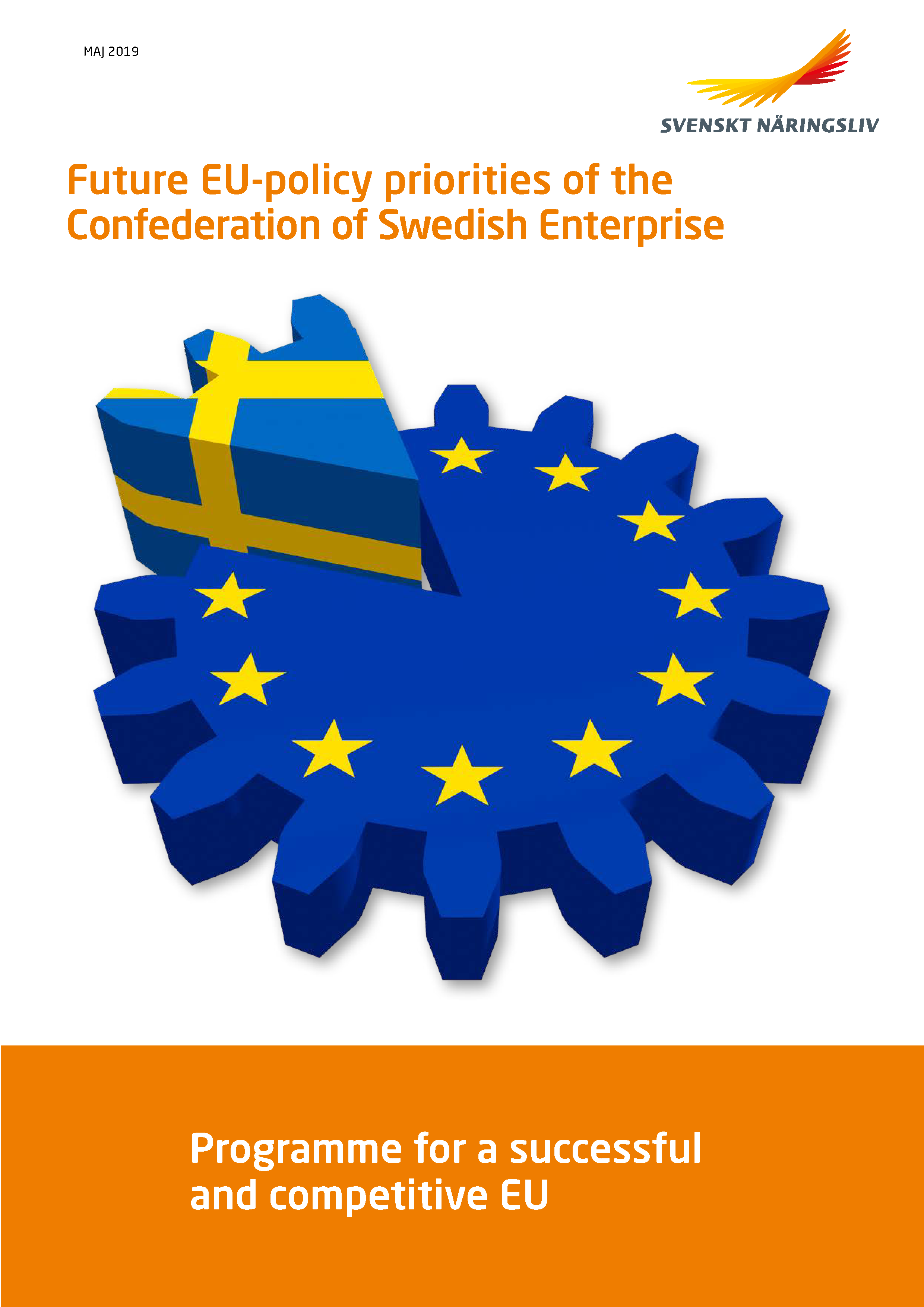 Future EU-policy priorities of the Confederation of Swedish Enterprise