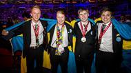 Victor Thulin, kock, Lina Andersson, Bagare, Martin Lindelöw, Industrielektriker, Emil Fäldt, Hotelreceptionist