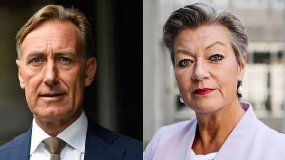 Jan-Olov Jacke och Ylva Johansson