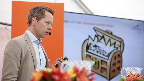 Johan Fall, skatteexpert på Svenskt Näringsliv.