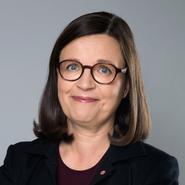 Anna Ekström (S), gymnasieminister