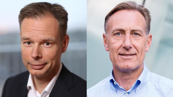 Fredrik Persson, ordförande och Jan-Olof Jacke, vd på Svenskt Näringsliv.