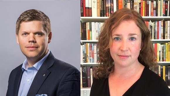 Johan Olsson, utbildningspolitisk expert och Karin Rebas, skolpolitisk expert.