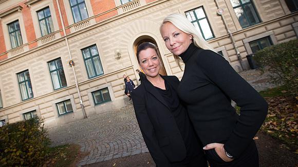Annika Josephsson och Camilla Lind