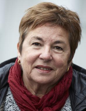 Ruth Berglund, som driver Strukturrutan i Östersund.