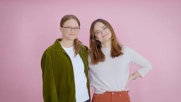 Elin Gawell och Hanna Persson