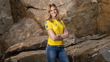 Wilma tävlar för Sverige i Yrkes-VM