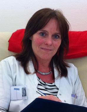 Mona Lindström är sjuksköterska och coach på Grannvård.