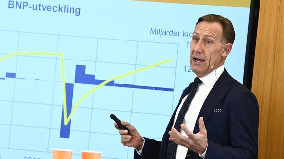Jan-Olof Jacke, vd för Svenskt Näringsliv.