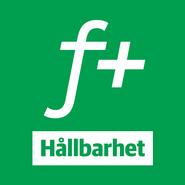 fPlus Hållbarhet logotyp