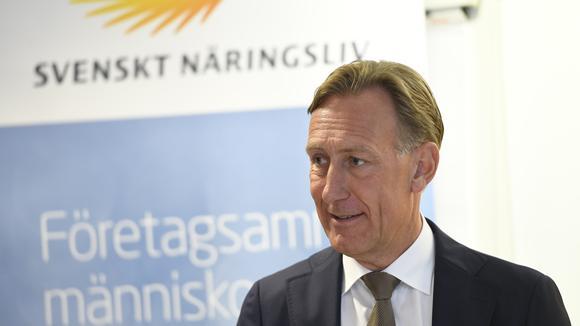 Jan-Olof Jacke, vd på Svenskt Näringsliv.