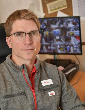 Andreas Bygler, Ica-handlare i Sätra Centrum