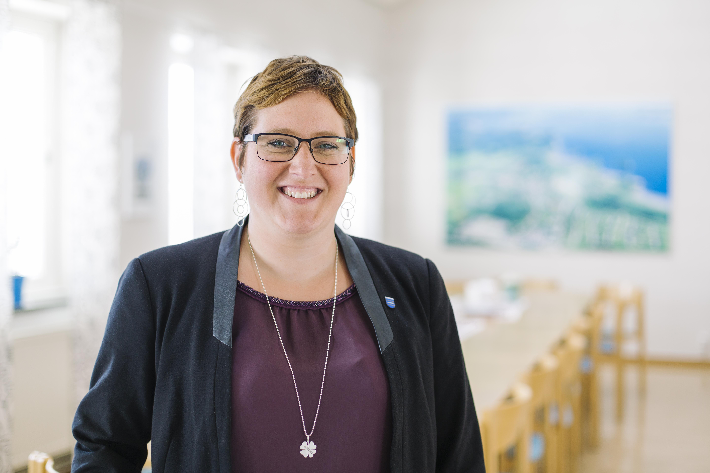 Madelaine Jakobsson, kommunstyrelsens ordförande Nordmaling2_EdelPuntonet