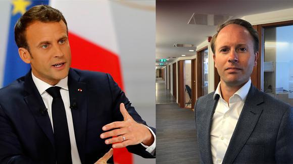 Emmanuel Macron, Edward Hamilton