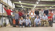 Medarbetare vid Falu Vapen Färg