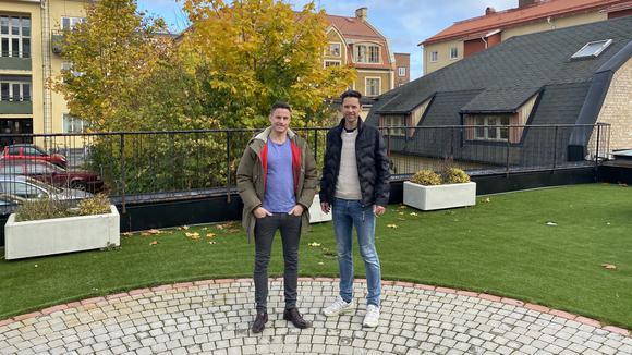 David Åberg och Pär Höök
