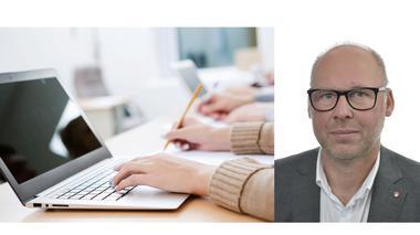 Patrik Engström (S) vill se en satsning på fortbildning