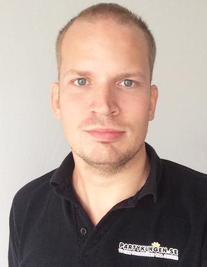 Joel Svensson, Partykungen.se