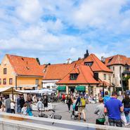 Uppåt för Gotland