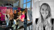 UF mässa 2020 samt Ida Thorén Olsson, regionchef, Ung Företagsamhet Halland