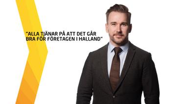 Vem tjänar på att det går bra för företagen i Halland?