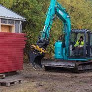 Ny grävutbildning tack vare samarbete mellan skola och företag