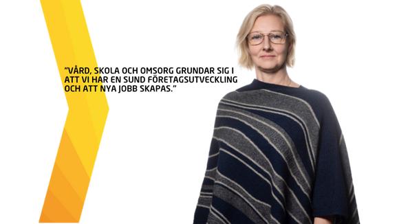 Anna Gillek, regionchef Svenskt Näringsliv Jönköping