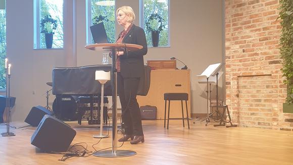 Anna Gillek, regionchef för Svenskt Näringsliv Jönköpings län