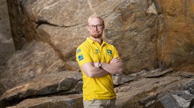 David representerar Sverige i Yrkes-VM