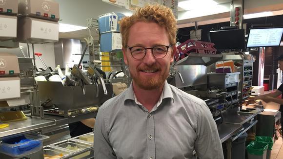 Ivan Ström, franchisetagare för McDonald's i Kalmar, Nyköping, Oskarshamn och Västervik.