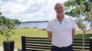 Företagare på vd sjön Tiken i Tingsryd