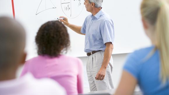 lärare och skolklass