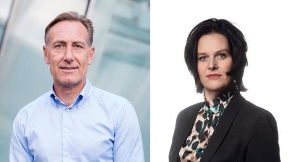 Jan-Olof Jacke och Ulrica Bennesved