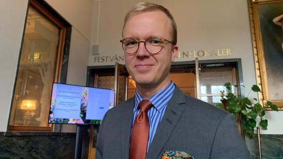 Halvfigur Stefan Sagebro