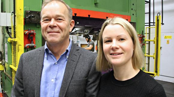 Dan Johansson och Mia Glaad
