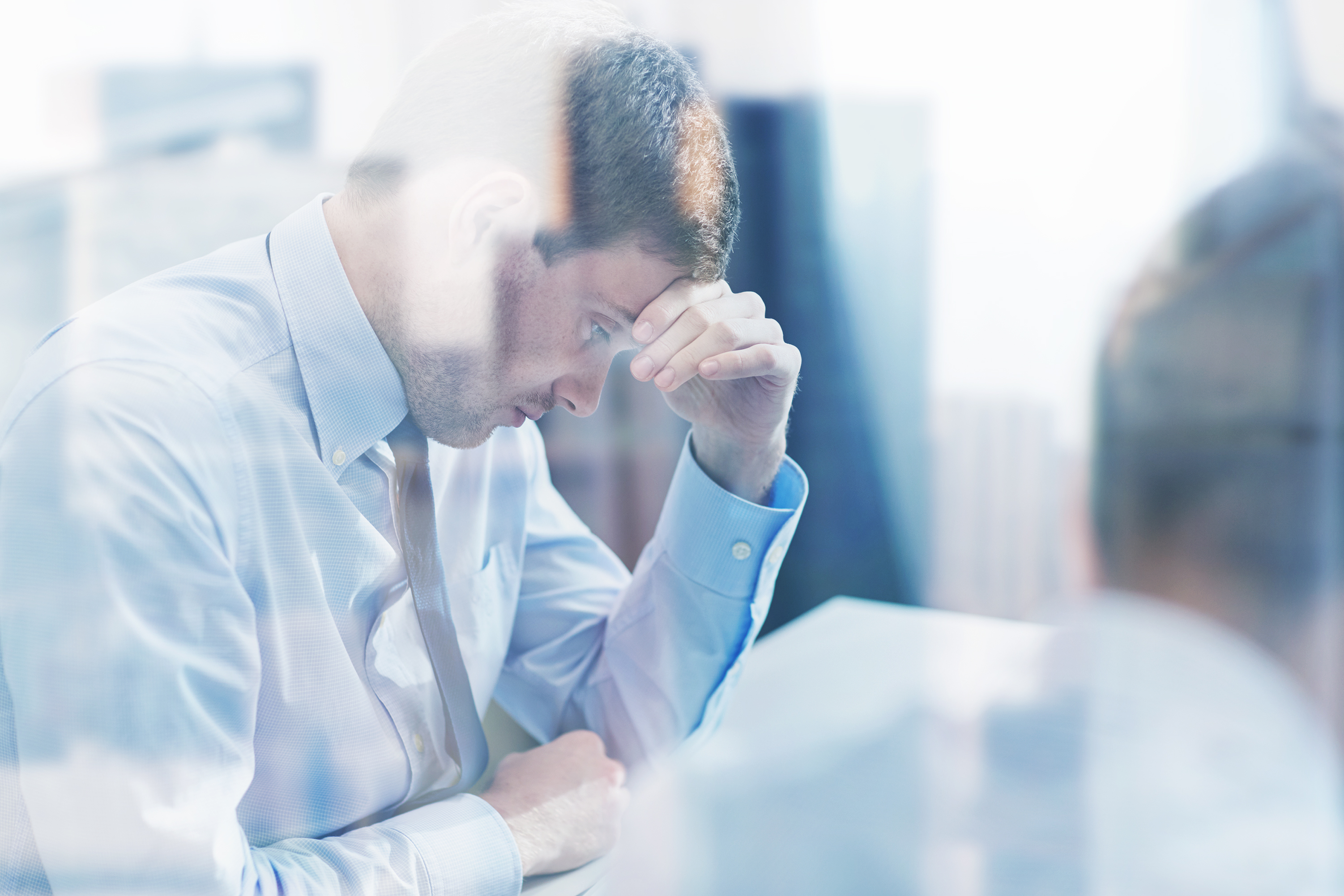 15602969-business-people-having-problem-in-office