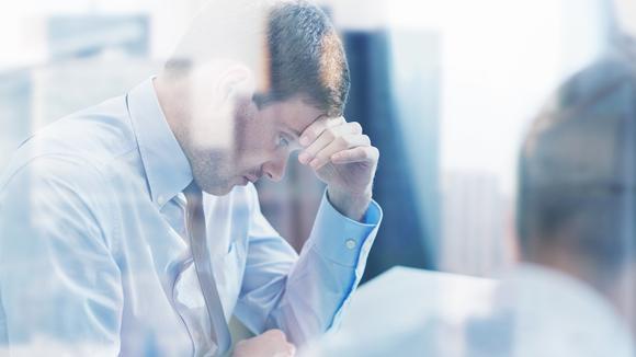 Bekymrad företagare