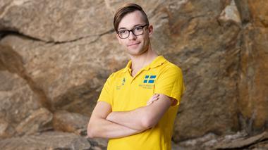 Victor Nyberg laddar för Yrkes VM i Ryssland