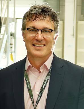 Henning Robach, chef för Saabs affärsenhet Barracuda i Gamleby