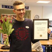 Jimmy Andersson Årets UF-lärare i Östergötland 2020