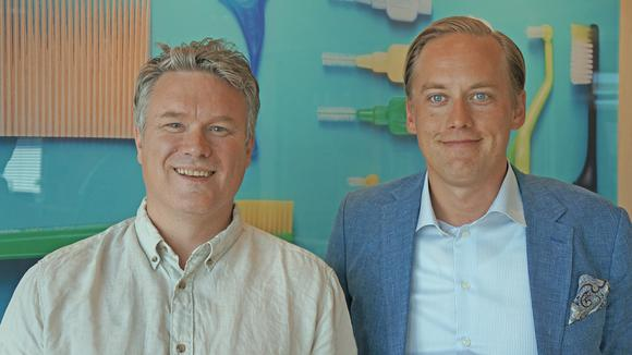 Joakim Sandell och Joel Eklund.
