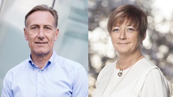 Jan-Olof Jacke och Carina Centrén