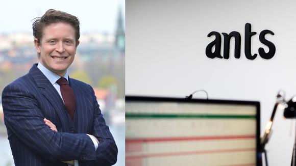 Carl-Johan Hamilton, Ants Tech Recruiters och bild på anställd på Ants vid sin dator